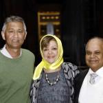 Dome organising commitee (l-r) Sedick Josephs, Wacella Abrahams and Ghalib Abrahams